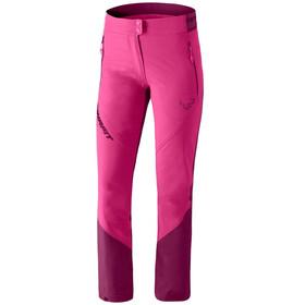 Dynafit Transalper Light Dyna-Stretch Pantalones Mujer, flamingo
